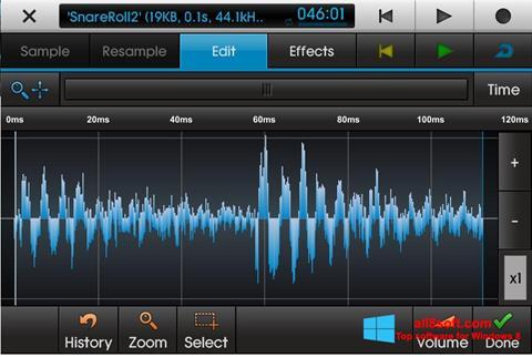 Screenshot NanoStudio untuk Windows 8