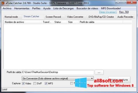Screenshot aTube Catcher untuk Windows 8