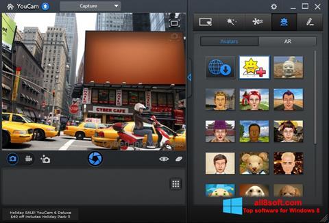 Screenshot CyberLink YouCam untuk Windows 8