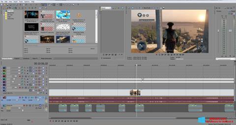 Screenshot Sony Vegas Pro untuk Windows 8
