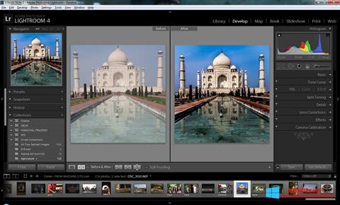 Screenshot Adobe Photoshop Lightroom untuk Windows 8