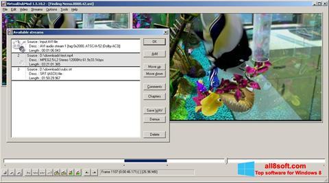 Screenshot VirtualDubMod untuk Windows 8