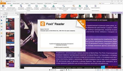 Screenshot Foxit Reader untuk Windows 8