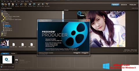 Screenshot ProShow Producer untuk Windows 8