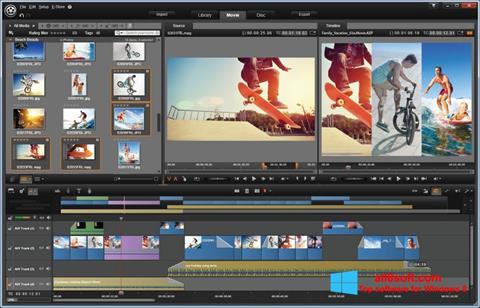 Screenshot Pinnacle Studio untuk Windows 8