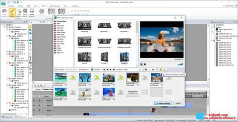 Screenshot Free Video Editor untuk Windows 8