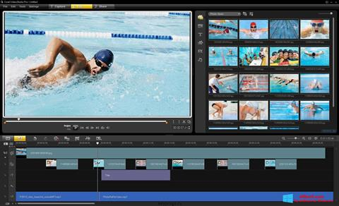 Screenshot Corel VideoStudio untuk Windows 8