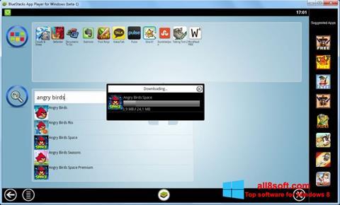 Screenshot BlueStacks untuk Windows 8